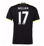 2016-17 Chelsea Away Shirt (Willian 17) - Kids