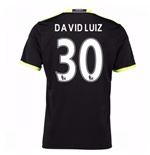 2016-17 Chelsea Away Shirt (David Luiz 30) - Kids