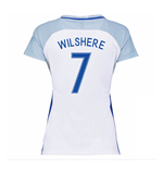 2016-17 England Home Womans Shirt (Wilshere 7)