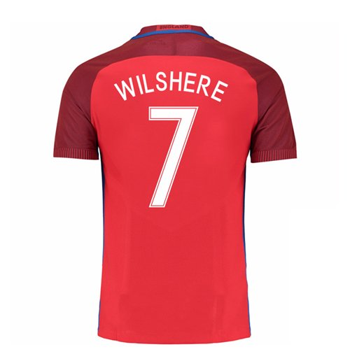 2016-17 England Away Shirt (Wilshere 7) - Kids