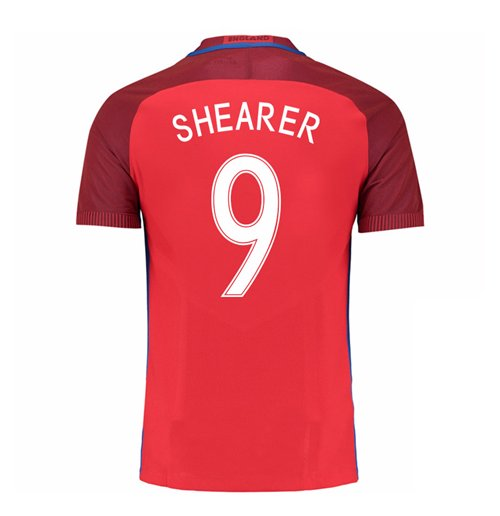 2016-17 England Away Shirt (Shearer 9) - Kids