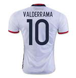 2016-17 Colombia Home Shirt (Valderrama 10)