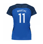 2016-17 France Womans Home Shirt (Martial 11)
