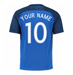 2016-17 France Home Shirt (Your Name)