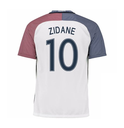 aa94ee918 Buy Official 2016-17 France Away Shirt (Zidane 10) - Kids