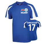 2016-17 Iceland Sports Training Jersey (Gunnarsson 17)