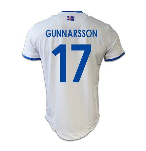 new product afe64 fbce0 2016-17 Iceland Away Shirt (Gunnarsson 17)