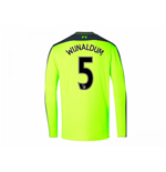 2016-17 Liverpool Third Long Sleeve Shirt (Wijnaldum 5)