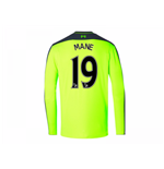 2016-17 Liverpool Third Long Sleeve Shirt (Mane 19)