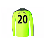 2016-17 Liverpool Third Long Sleeve Shirt (Lallana 20) - Kids