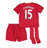 2016-17 Liverpool Home Mini Kit (Sturridge 15)