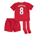 2016-17 Liverpool Home Mini Kit (Gerrard 8)
