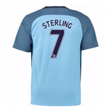 2016-17 Man City Home Shirt (Sterling 7)