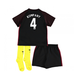 2016-17 Man City Away Baby Kit (Kompany 4)