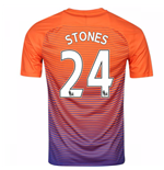 2016-17 Manchester City Third Shirt (Stones 24)