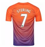 2016-17 Manchester City Third Shirt (Sterling 7)