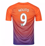 2016-17 Manchester City Third Shirt (Nolito 9)