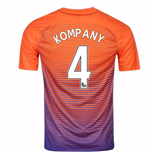 2016-17 Manchester City Third Shirt (Kompany 4)