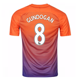 2016-17 Manchester City Third Shirt (Gundogan 8)
