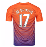 2016-17 Manchester City Third Shirt (De Bruyne 17)