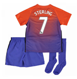 2016-17 Manchester City Third Mini Kit (Sterling 7)