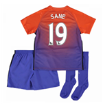 2016-17 Manchester City Third Mini Kit (Sane 19)