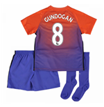 2016-17 Manchester City Third Mini Kit (Gundogan 8)