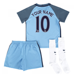 2016-17 Manchester City Home Baby Kit (Your Name)