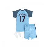 2016-17 Manchester City Home Baby Kit (De Bruyne 17)