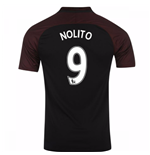 2016-17 Manchester City Away Shirt (Nolito 9)