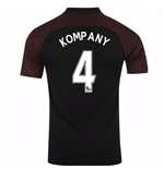 2016-17 Manchester City Away Shirt (Kompany 4) - Kids