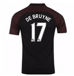 2016-17 Manchester City Away Shirt (De Bruyne 17)