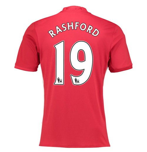 2016-17 Manchester United Home Shirt (Rashford 19) - Kids