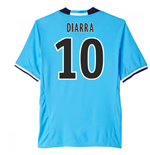 2016-17 Marseille Third Shirt (Diarra 10)
