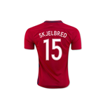 2016-17 Norway Home Shirt (Skjelbred 15)
