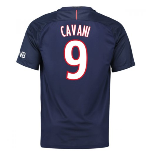 2016-17 PSG Home Shirt (Cavani 9)