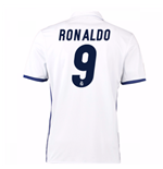 2016-17 Real Madrid Home Shirt (Ronaldo 9) - Kids