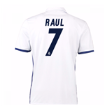 2016-17 Real Madrid Home Shirt (Raul 7) - Kids