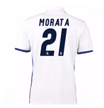 2016-17 Real Madrid Home Shirt (Morata 21)