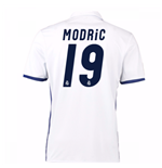 2016-17 Real Madrid Home Shirt (Modric 19)
