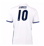 2016-17 Real Madrid Home Shirt (James 10)
