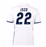 2016-17 Real Madrid Home Shirt (Isco 22) - Kids