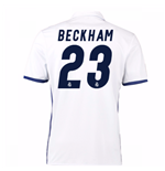 2016-17 Real Madrid Home Shirt (Beckham 23)