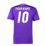 2016-17 Real Madrid Away Shirt (Your Name)