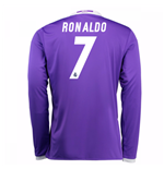 2016-17 Real Madrid Away Shirt (Ronaldo 7)