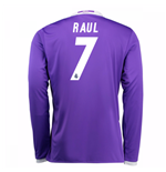 2016-17 Real Madrid Away Shirt (Raul 7) - Kids