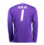 2016-17 Real Madrid Away Shirt (Navas 1) - Kids
