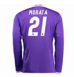 2016-17 Real Madrid Away Shirt (Morata 21)
