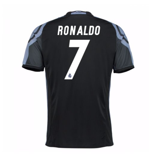 2016-17 Real Madrid 3rd Shirt (Ronaldo 7)