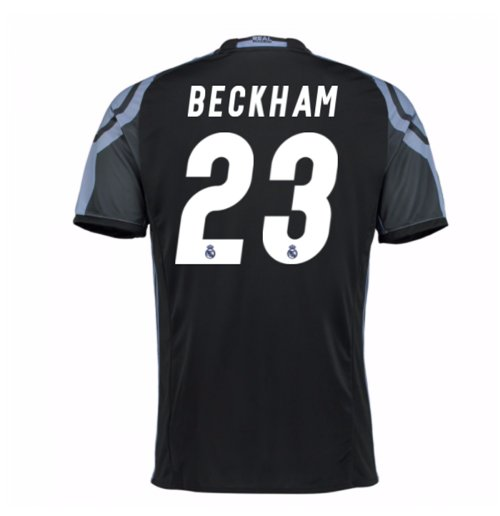 2016-17 Real Madrid 3rd Shirt (Beckham 23)